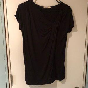 4/50$ Black dress top NWOT